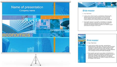 economics powerpoint template backgrounds id 0000000238