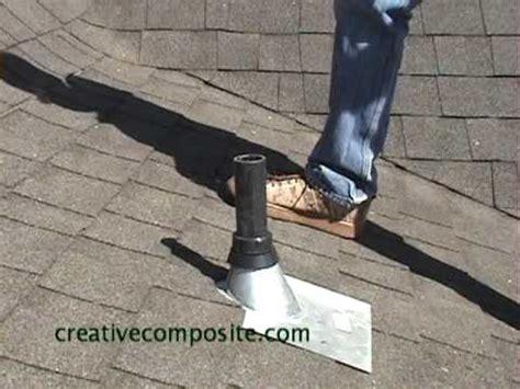 roof repair  plumbing vent pipe youtube