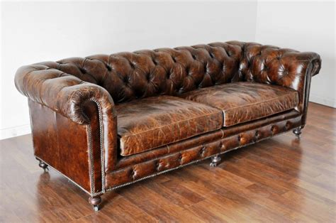 Distressed Chesterfield Sofa Teachfamilies Org Chesterfield Sofas Second