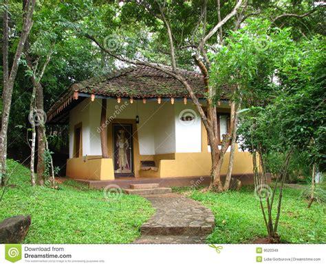 sri lanka bungalows bungalow in hotel on sri lanka royalty free stock images