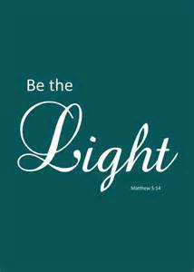 Be The Light Bible Verse thankful thursday free printable bible verse sign be the light matthew 5 14