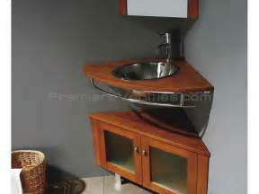 Corner Basin Cabinet by Corner Bathroom Vanity With Maple Finish Single Sink
