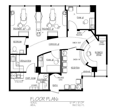 dental floor plans dental office floor plan design