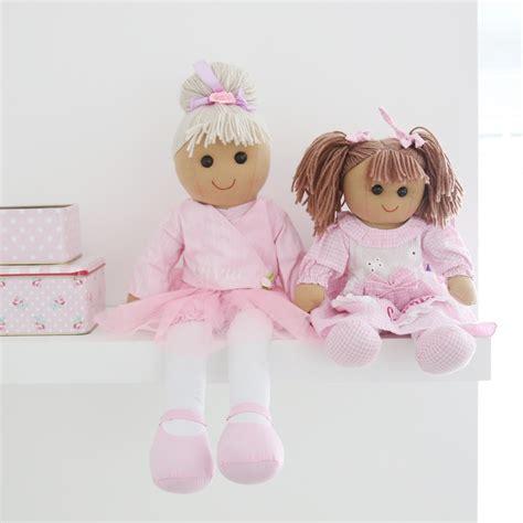 black rag doll uk personalised gingham rag doll my 1st years
