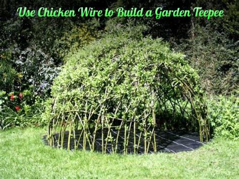 Cable Trellis Outdoor Teepee Playhouse Diy Projects