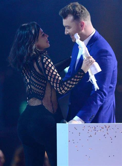 catch up with kim kardashian sam smith and ed sheeran sweep the board with two gongs