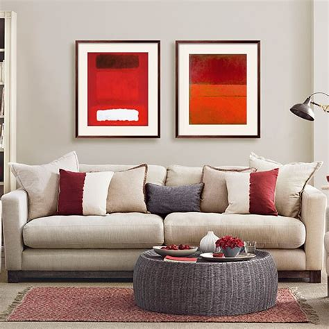 red and gray living room mushroom grey and red living room living room decorating