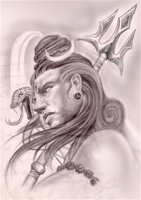shiva sketch by ketology on deviantart