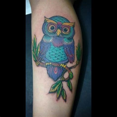 owl tattoo purple 17 best images about body art and piercings on pinterest
