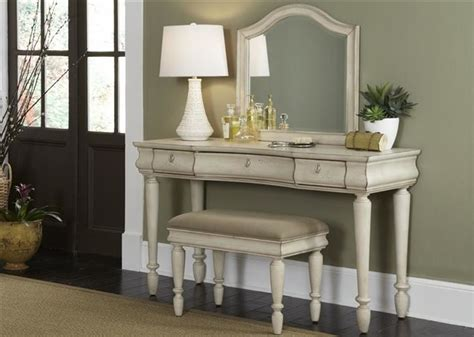 contemporary bedroom vanity liberty furniture rustic traditions vanity in rustic white