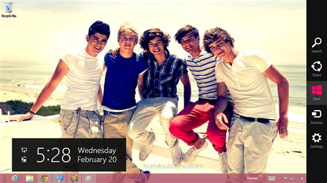 theme line one direction gratis download gratis tema windows 7 2013 one direction windows