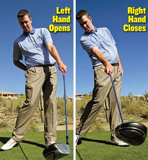 left handed driver swing play the right hand golf tips magazine