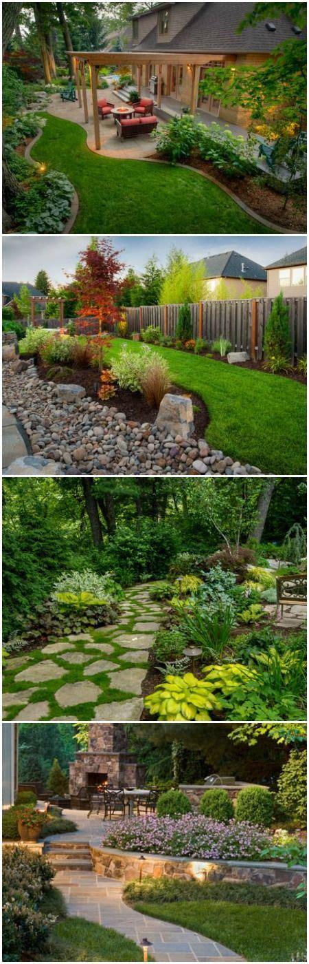landscape design backyard ideas best 25 backyard landscaping ideas on outdoor