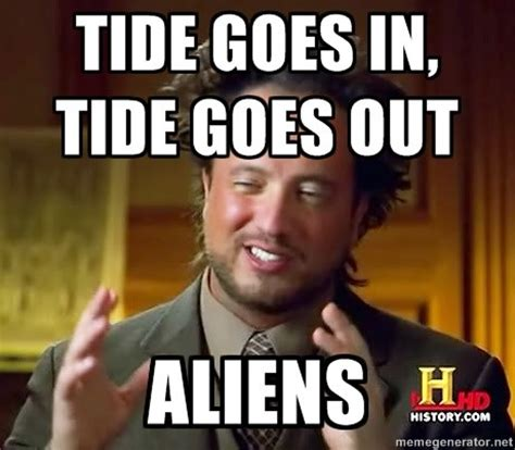 Tsoukalos Meme Generator - lady warden presents aliens blog by greywardenbeanie ign