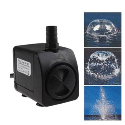 agptek 174 320gph electric submersible indoor outdoor water