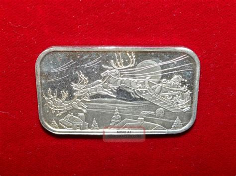 1 Troy Ounce Silver Bar - 1 troy ounce 999 silver bar ingot 2001