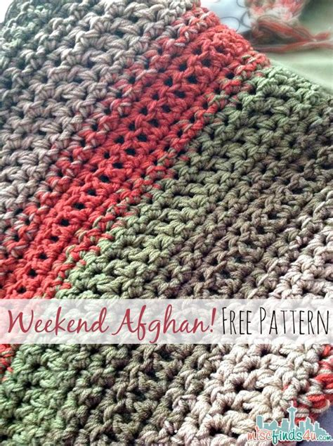 crochet pattern quick afghan free pattern fast and easy crochet throw 2 stripe options