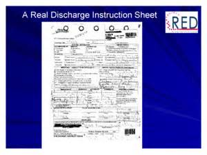 project red reengineering the hospital discharge process