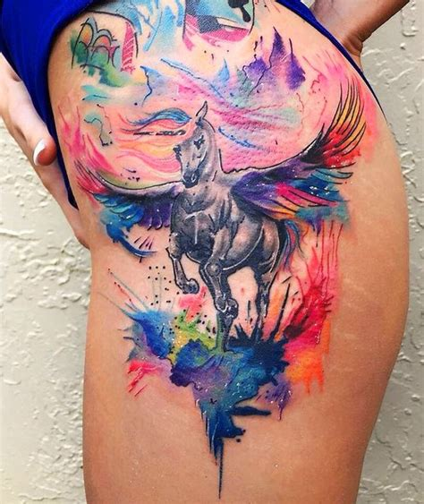 watercolor tattoos hip 9316 best images about cool tattoos on surf