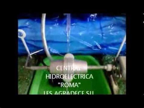 como hacer una vaguita en foy 191 como hacer una central hidroelectrica youtube