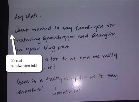 thank you letter to salon client 5 handwritten thank you notes that earned 5 loyal clients