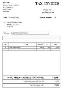 tax invoices templates tax invoice template free invoice template 2017