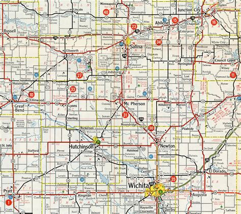 Search In Kansas Interstate Guide Interstate 135