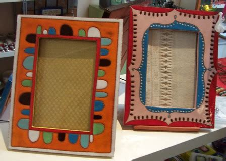 Handmade Ceramic Photo Frames - handmade ceramic picture frames