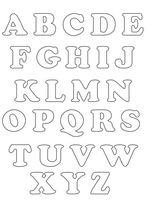 alphabet letter templates for banners alphabet templates and banners