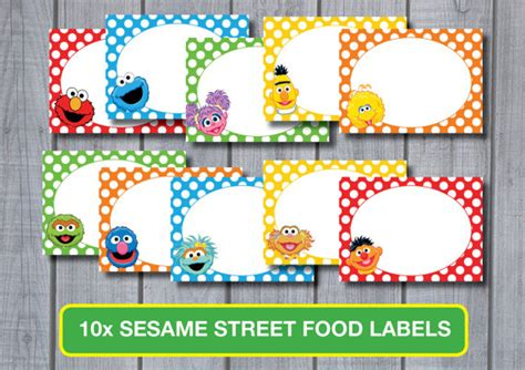 free printable elmo name tags unavailable listing on etsy