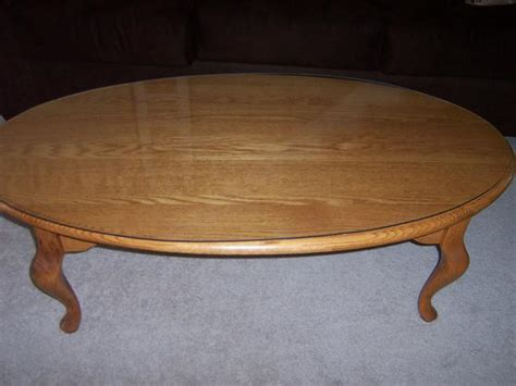 Oak Oval Coffee Table Solid Oak Heritage House Oval Coffee Table Nepean Ottawa