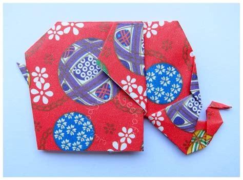 Easy Elephant Origami - easy origami elephant tutorial