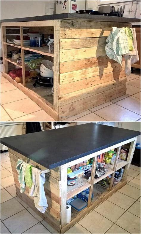 pallet kitchen island best 25 pallet island ideas on pallet kitchen