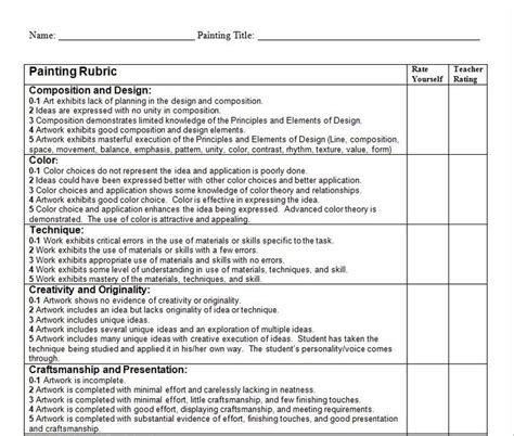 student self assessment myp visual student self assessment search