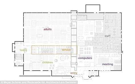 Library Floor Plan Design Mcallen Public Library Revealed How A Texas Town Turned