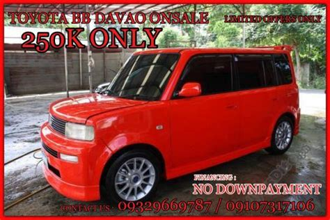 Toyota Davao Telephone Number Toyota Bb Davao 250k Only Garaje