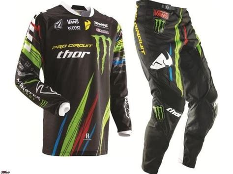 monster motocross jersey details about thor mx racing monster energy pro circuit