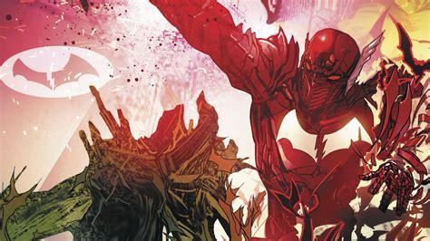 death is a red batman the red death takes the dark knight down a deadly path geek taco