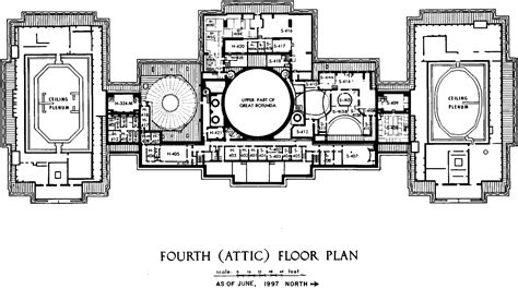 us capitol building floor plan file us capitol fourth floor plan 1997 105th congress gif