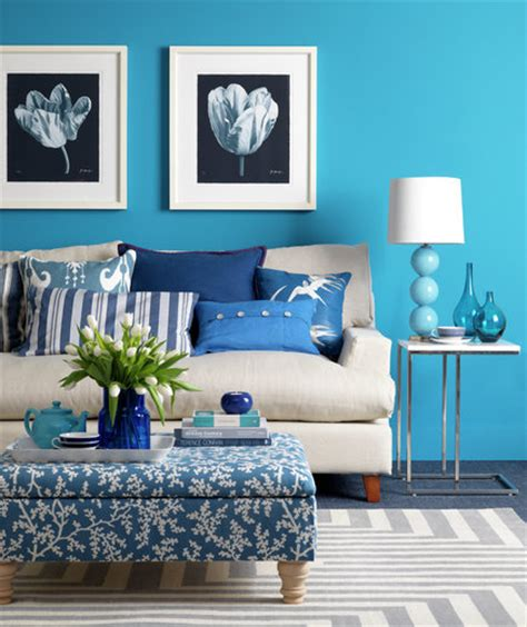Cool Blue Rooms by Cool Blue Colorful Decorating Ideas For A Small Room