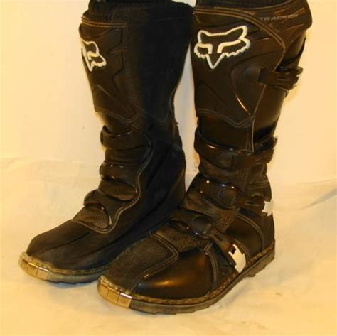 fox tracker motocross boots purchase fox racing 2003 tracker boots size 10 motorcycle