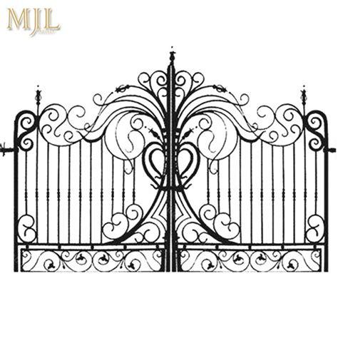 china  style luxury  price double door iron gates