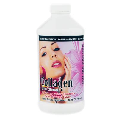 Juice Collagen liquid collagen earth s creation usa