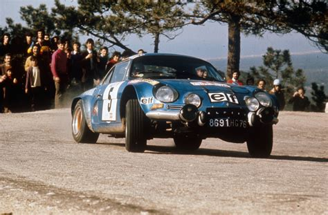 Alpine A110 Rally Car Speeddoctor Net Speeddoctor Net
