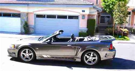 mustang convertible tonneau cover buy used 2004 mustang gt saleen convertible supercharged
