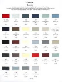 ebay colors 1986 porsche paint color sle chips card oem colors ebay