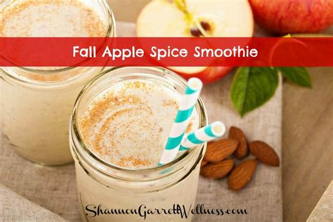Thyroid Detox Smoothie by Fall Apple Spice Smoothie 187 Holistic Thyroid Care