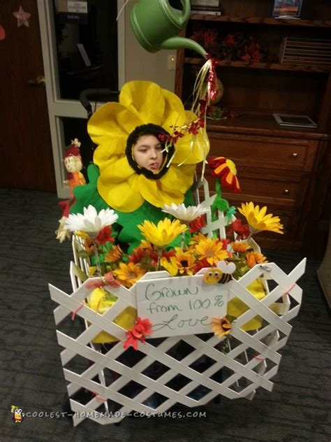 flower garden costume wheelchair flower garden costume