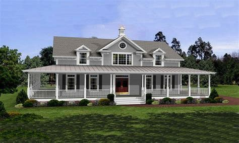 farm style rustic house plans with wrap around porches