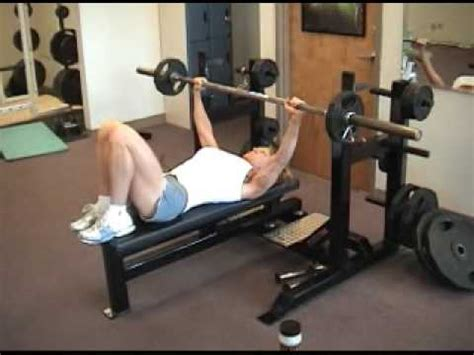 buff dudes bench press cathy vail bench press 65 lbs x 104 reps youtube